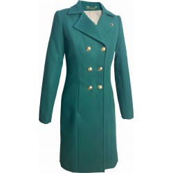Płaszcz klasyczny premium - kolor zielony